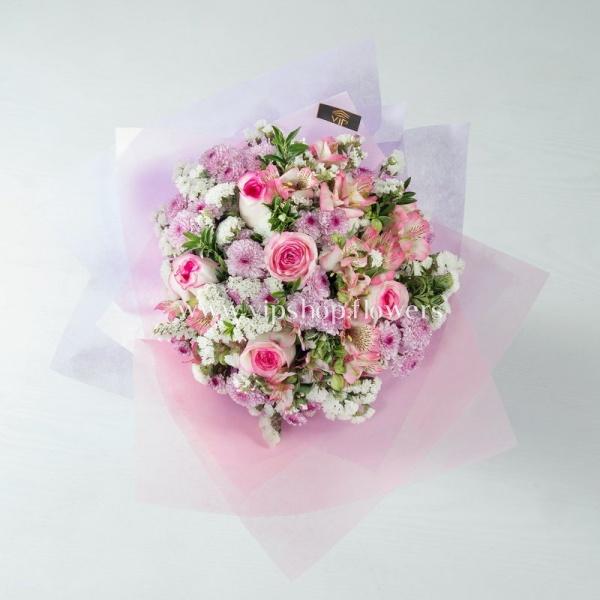 دسته گل شماره 14- گلفروشی آنلاین VIP Shop