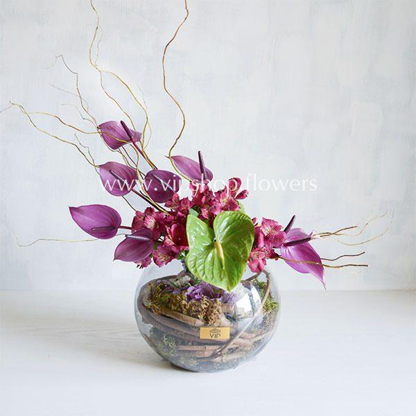 گلدان شیشه ای شماره ۵۷
