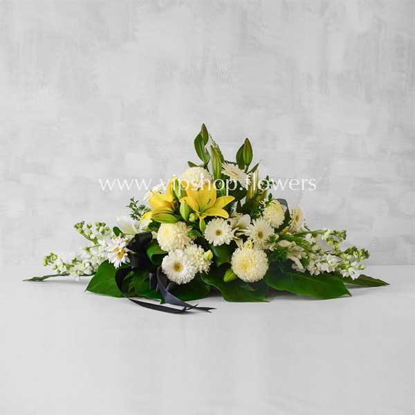 گل رومیزی ترحیم با قیمت مناسب-گل ترحیم شماره ۰۶