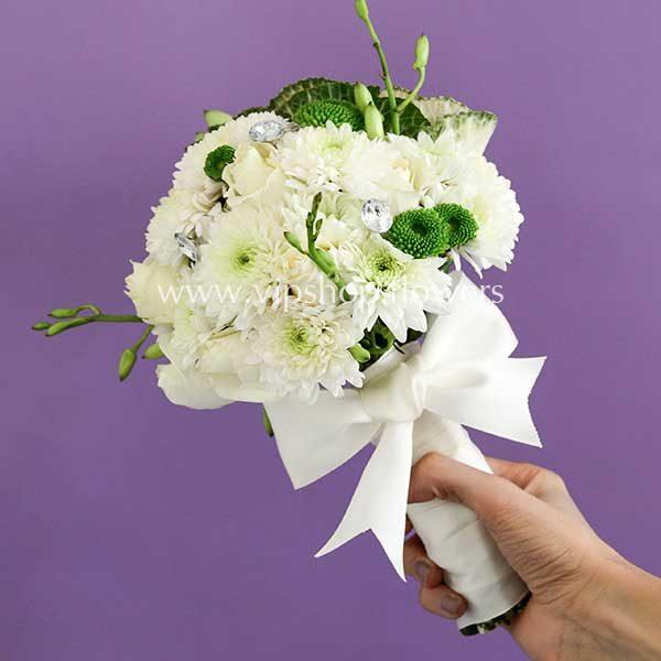 دسته گل عروس شماره ۰۷
