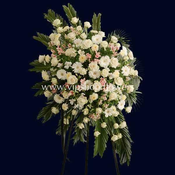 تاج گل پایه دار شماره ۱۱