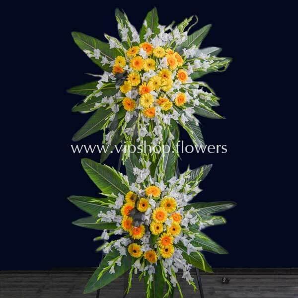 تاج گل پایه دار شماره ۱۳