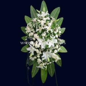 تاج گل پایه دار شماره ۰۵