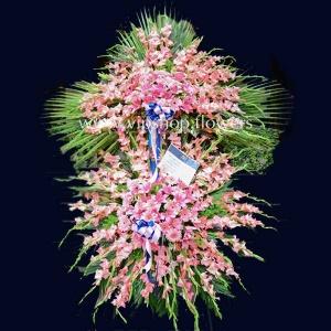 تاج گل پایه دار شماره ۱۵
