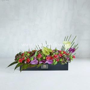 جعبه گل شماره 58- گلفروشی آنلاین VIP Shop