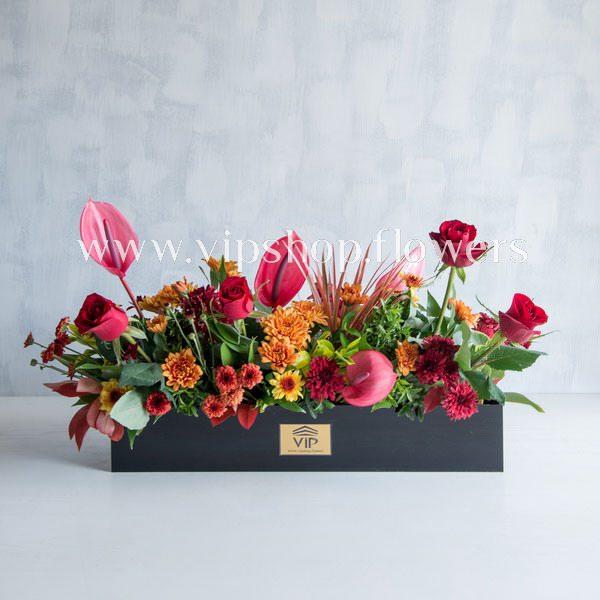 گل آنتوریوم قرمز- گلفروشی آنلاین VIP Shop