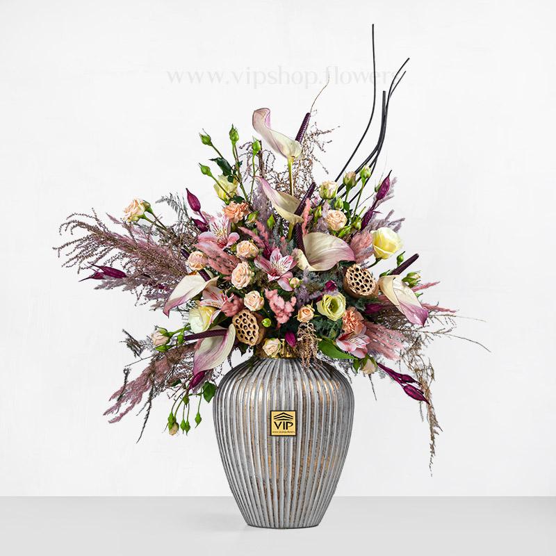 جعبه گل هدیه شماره 79
