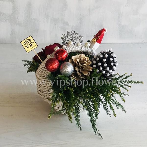 سبد گل کریسمس شماره 1
