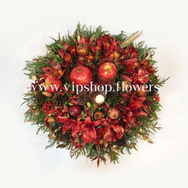 گل رومیزی یلدای شماره 4