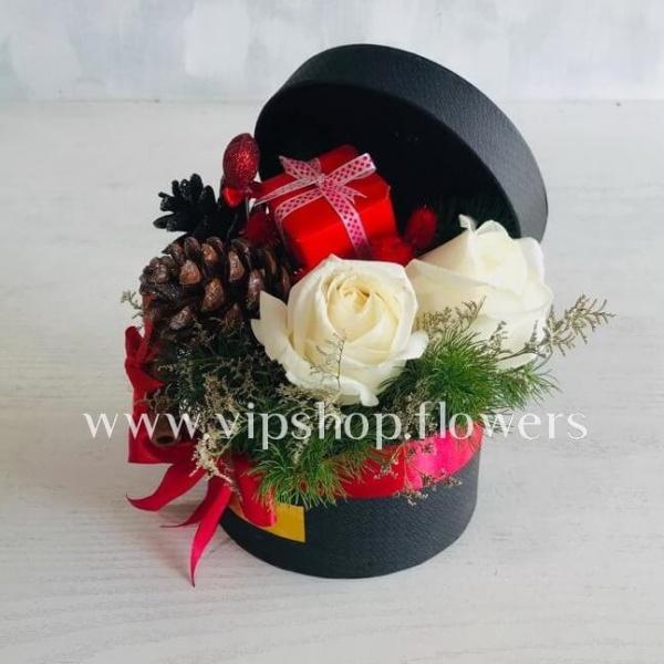 جعبه گل هدیه شماره 1