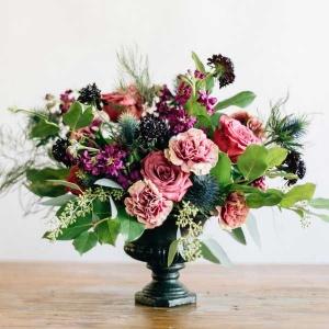 گلدان گل مصنوعی