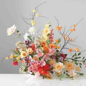 سبد گل مصنوعی خاص و لاکچری