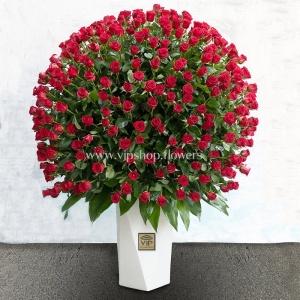 جعبه گل رز 500 شاخه ای- گلفروشی آنلاین VIP Shop
