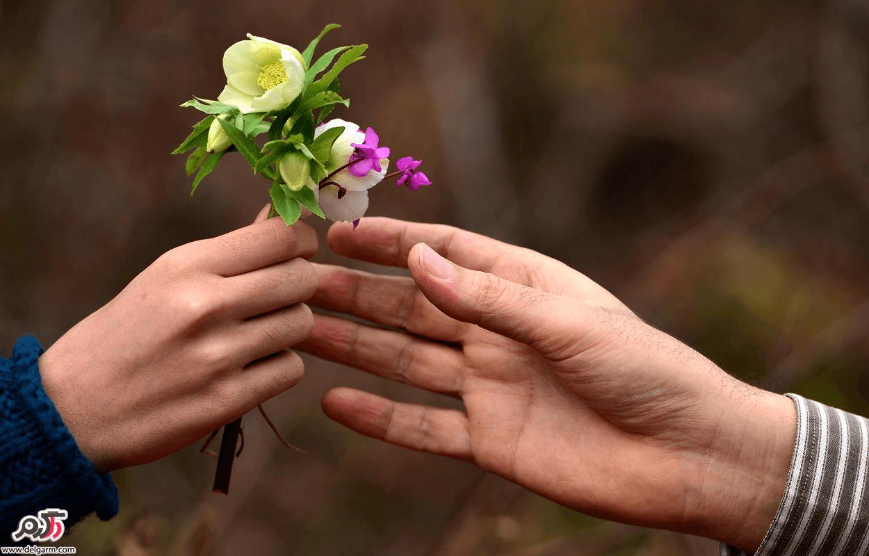 نکاتی در ارتباط با تاثیر گل دادن به دختر