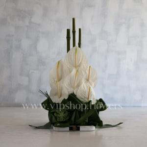 گل رومیزی تبریک شماره 7