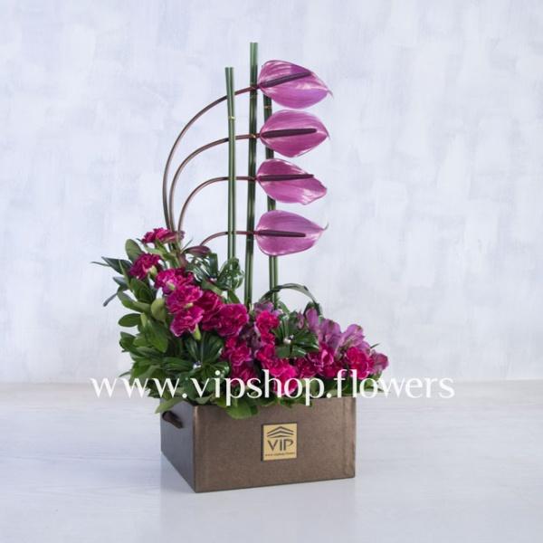 جعبه گل شماره 123