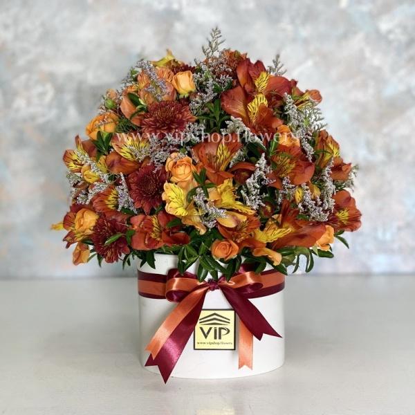 گل قرمز نارنجی- گلفروشی آنلاین VIP Shop