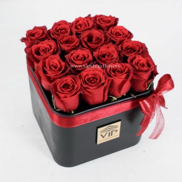 خرید باکس گل رز- گلفروشی آنلاین VIP Shop