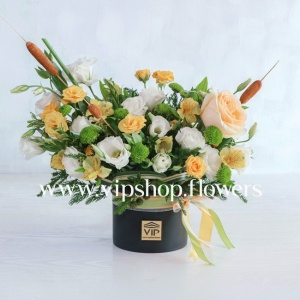 جعبه گل شماره 138- گلفروشی آنلاین VIP Shop