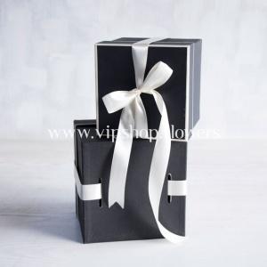 جعبه مربع مدل 1012 مشکی (ست 2تایی)