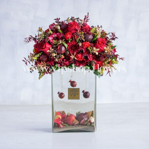 گل یلدا عروس- گلفروشی آنلاین VIP Shop