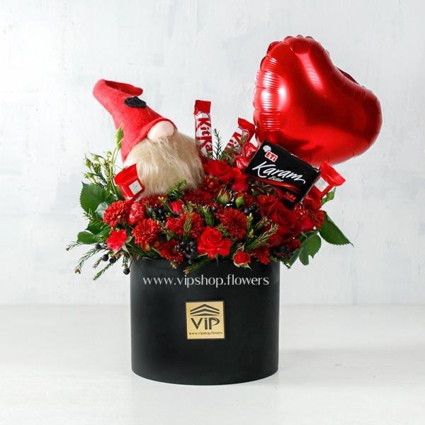 گل و شکلات ولنتاین- گلفروشی آنلاین VIP Shop