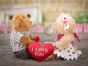خرس ولنتاین ،خرید گل