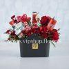 بسته گل و شکلات شماره 21
