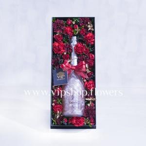بسته گل و شکلات شماره 25