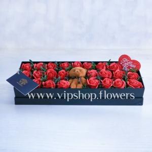 گل مصنوعی ولنتاین شماره 1