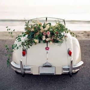 گل ماشین عروس