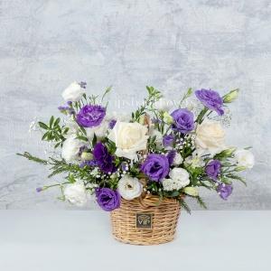 سبد گل شماره 113- گلفروشی آنلاین VIP Shop