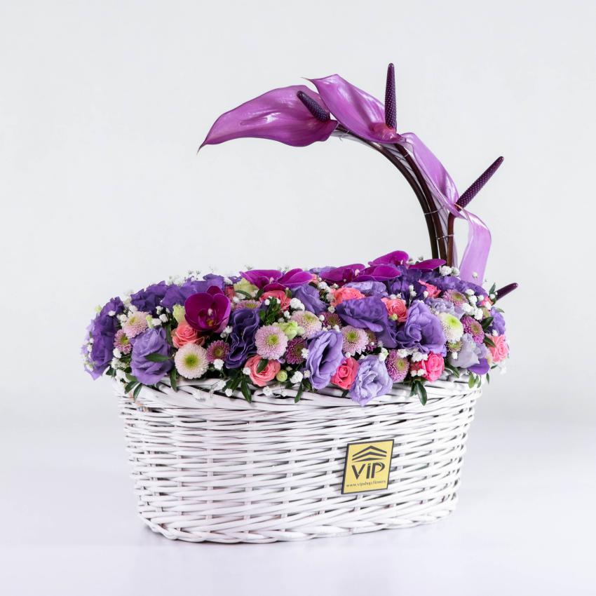 خرید سبد گل