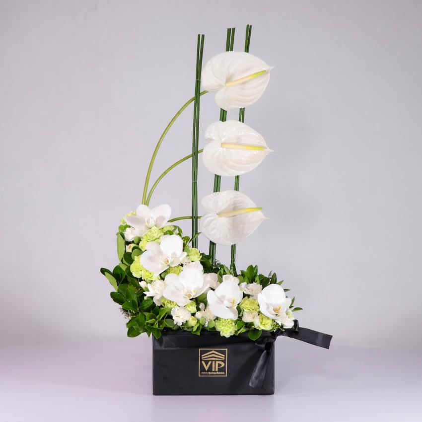 جعبه گل برای ترحیم