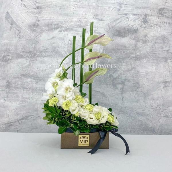 گل ترحیم شماره 40- گلفروشی آنلاین VIP Shop