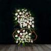 خرید تاج گل تسلیت- گلفروشی آنلاین VIP Shop