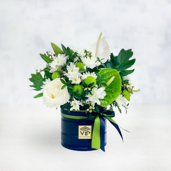 گل ترحیم رز و آنتوریم ارزان- گلفروش یآنلاین VIP Shopگلفروشی آنلاین