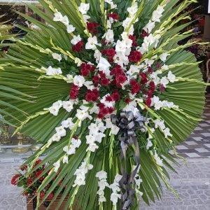 تاج گل یک طبقه داوودی گلایول