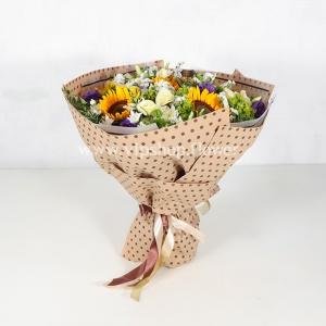 دسته گل لاکچری آفتابگردان - گلفروشی آنلاین VIP Shop