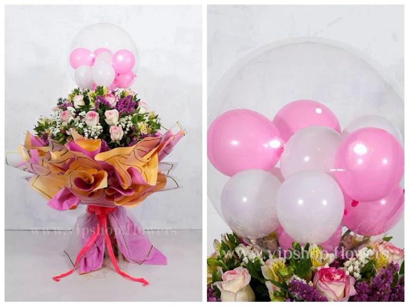 عکس دسته گل برای تبریک تولد