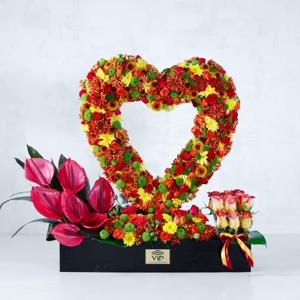 گل عاشقانه و رمانتیک -vipshop.flowers