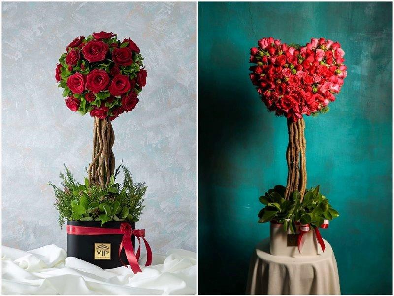 باکس گل رمانتیک و عاشقانه