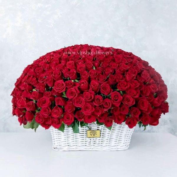 سبد گل رمانتیک و عاشقانه