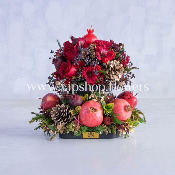 گل و میوه رومیزی